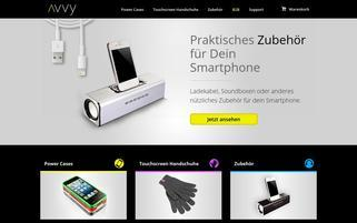 Avvy Webseiten Screenshot