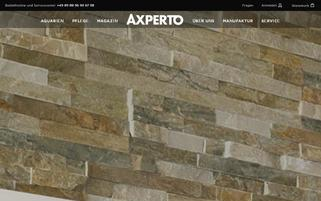 axperto Webseiten Screenshot