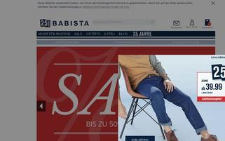 Babista Webseiten Screenshot