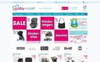 baby-markt.at Webseiten Screenshot