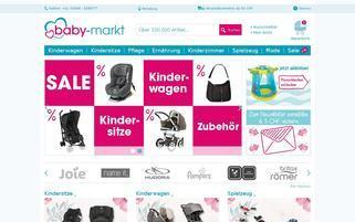 baby-markt.ch Webseiten Screenshot