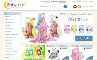 baby-pur.de Webseiten Screenshot