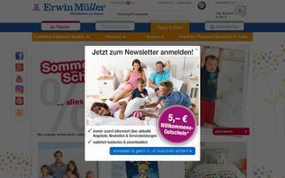 babybutt-at.erwinmueller.com Webseiten Screenshot