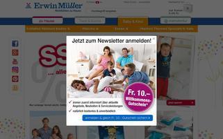 babybutt-ch.erwinmueller.com Webseiten Screenshot