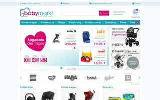 babymarkt Webseiten Screenshot