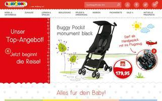 BabyOne Webseiten Screenshot