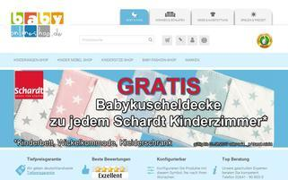 BabyOnlineShop Webseiten Screenshot