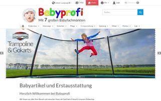 Babyprofi-online.de Webseiten Screenshot