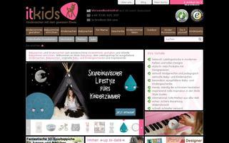 Babyshop ITkids Webseiten Screenshot