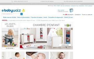 babywalz.fr Webseiten Screenshot