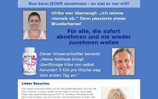 bacto-slim.de Webseiten Screenshot