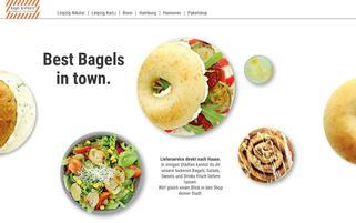Bagel Brothers Webseiten Screenshot