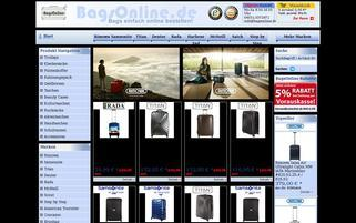 BagsOnline Webseiten Screenshot