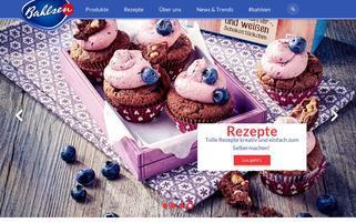 Bahlsen Webseiten Screenshot