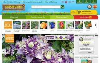 Baldur Garten Schweiz Webseiten Screenshot