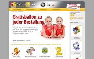 Ballon4You Webseiten Screenshot