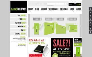 BannerCompany Webseiten Screenshot