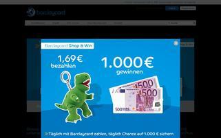 barclaycard.de Webseiten Screenshot
