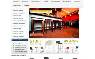 barhocker.de Webseiten Screenshot