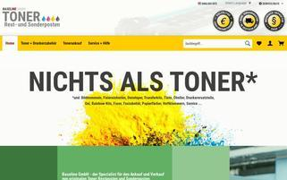 Baseline Toner Webseiten Screenshot