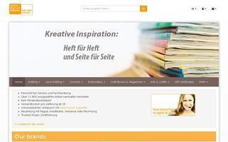 bastel und hobbykiste Webseiten Screenshot