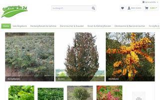 baumschulen-biermann.de Webseiten Screenshot