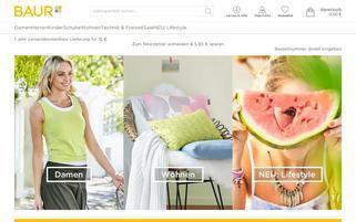 Baur Webseiten Screenshot