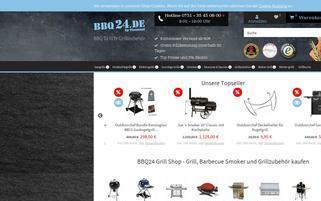 BBQ24 Webseiten Screenshot