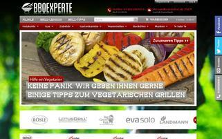 BBQexperte Webseiten Screenshot