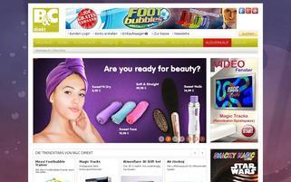BC Direkt Webseiten Screenshot