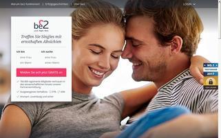 be2 Webseiten Screenshot