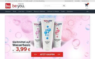 Beate Uhse Österreich Webseiten Screenshot