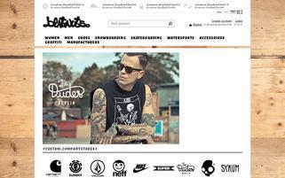 Beatnuts Webseiten Screenshot