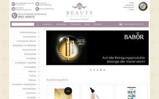 beautykaufhaus.de Webseiten Screenshot