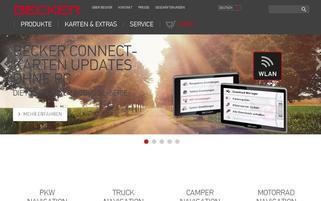 Becker Webseiten Screenshot