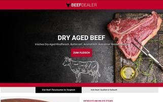 beefdealer.de Webseiten Screenshot