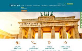 belboon.de Webseiten Screenshot