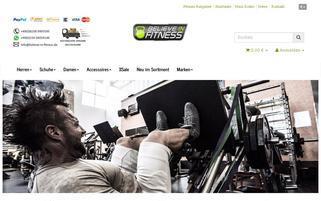 believe-in-fitness.de Webseiten Screenshot