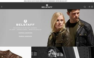 Belstaff Webseiten Screenshot