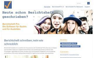 berichtsheft.de Webseiten Screenshot