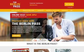 Berlin Pass Webseiten Screenshot