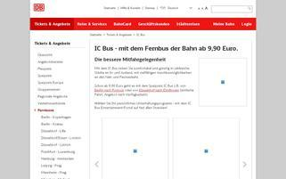BerlinLinienBus Webseiten Screenshot