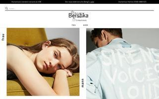 Bershka Webseiten Screenshot