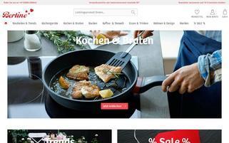 Bertine Webseiten Screenshot