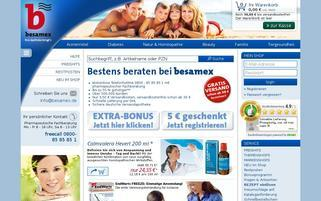 Besamex Webseiten Screenshot