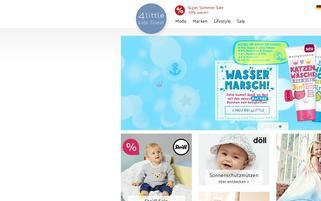 BestFashion4Kids Webseiten Screenshot