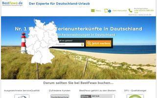 BestFewo Webseiten Screenshot