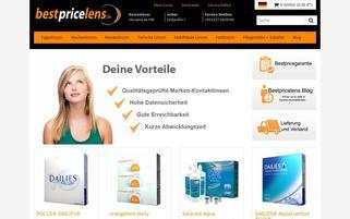 BestPriceLens Webseiten Screenshot