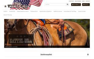 Better Western Wear Webseiten Screenshot