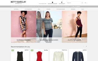 bettybarclay.de Webseiten Screenshot